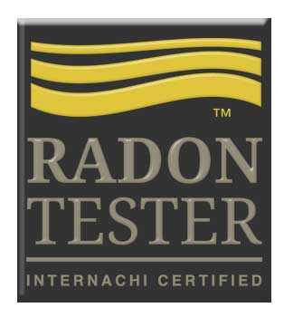certified radon tester badge